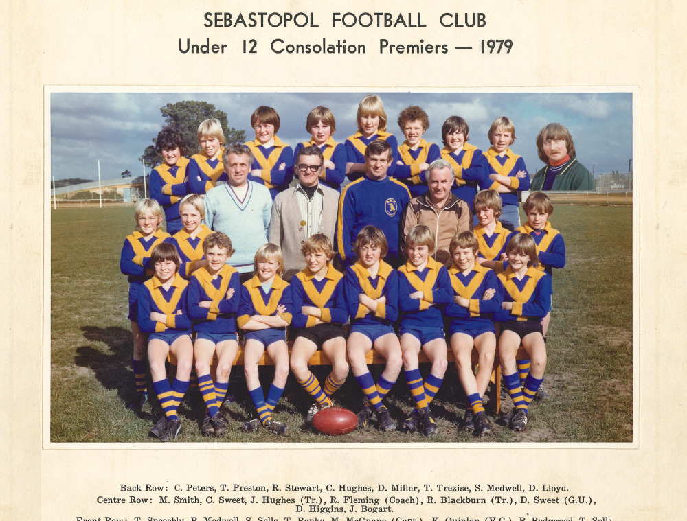 Football Junior 1979 Premiers Under 12