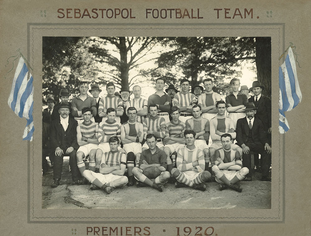 Footy Premiership Senior 1920