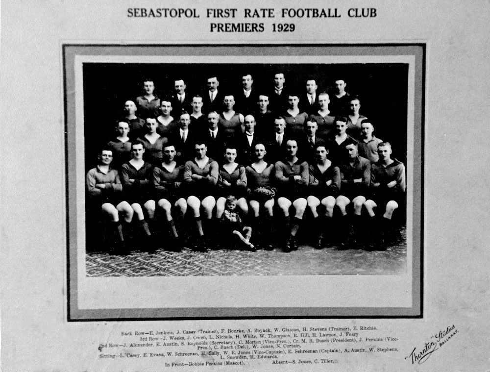Footy Premiership Senior 1929
