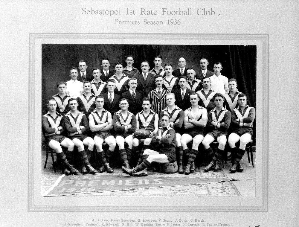 Footy Premiership Senior 1936