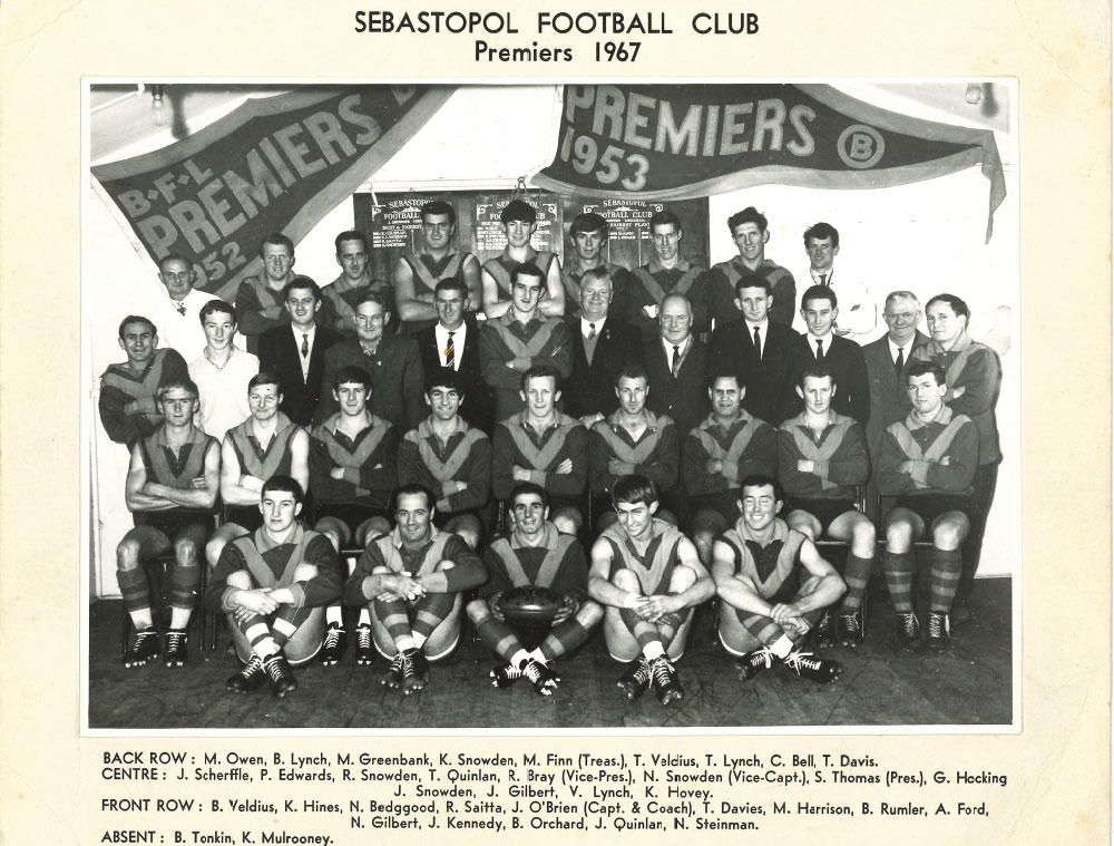 Footy Premiership Senior 1967