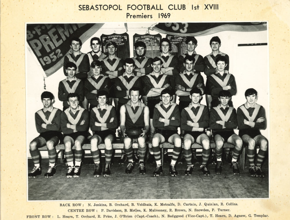 Footy Premiership Senior 1969