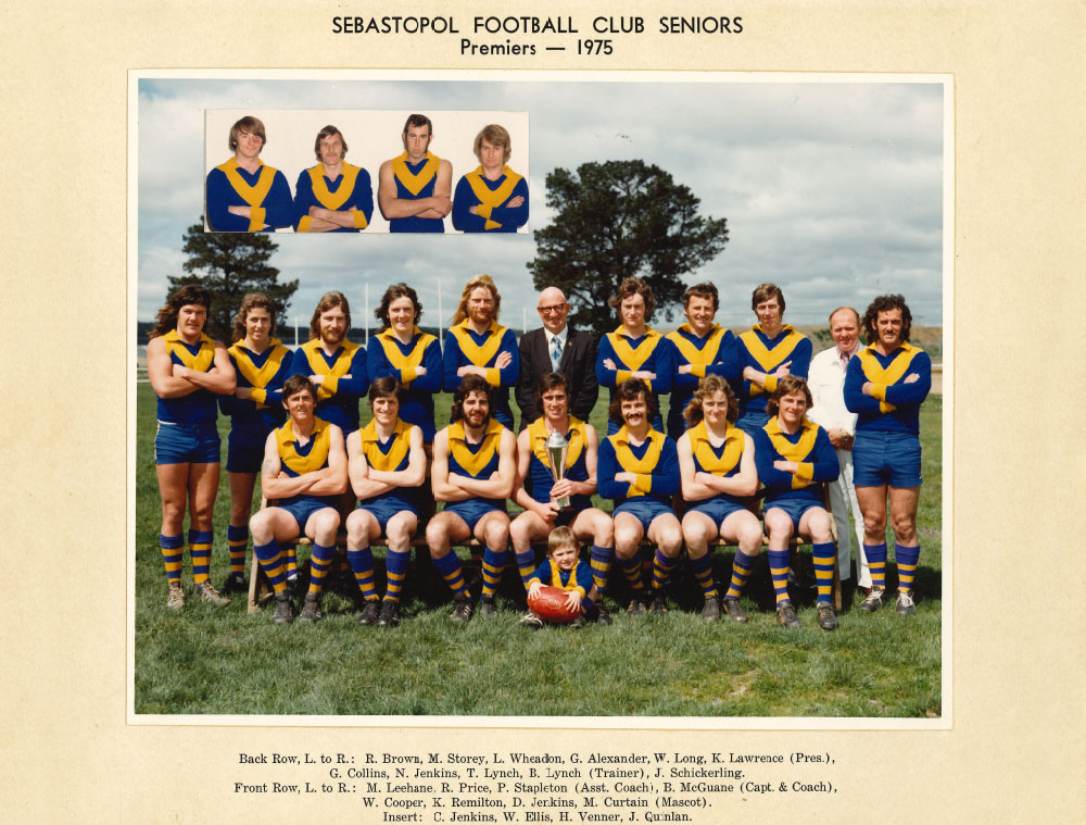 Footy Premiership Senior 1975